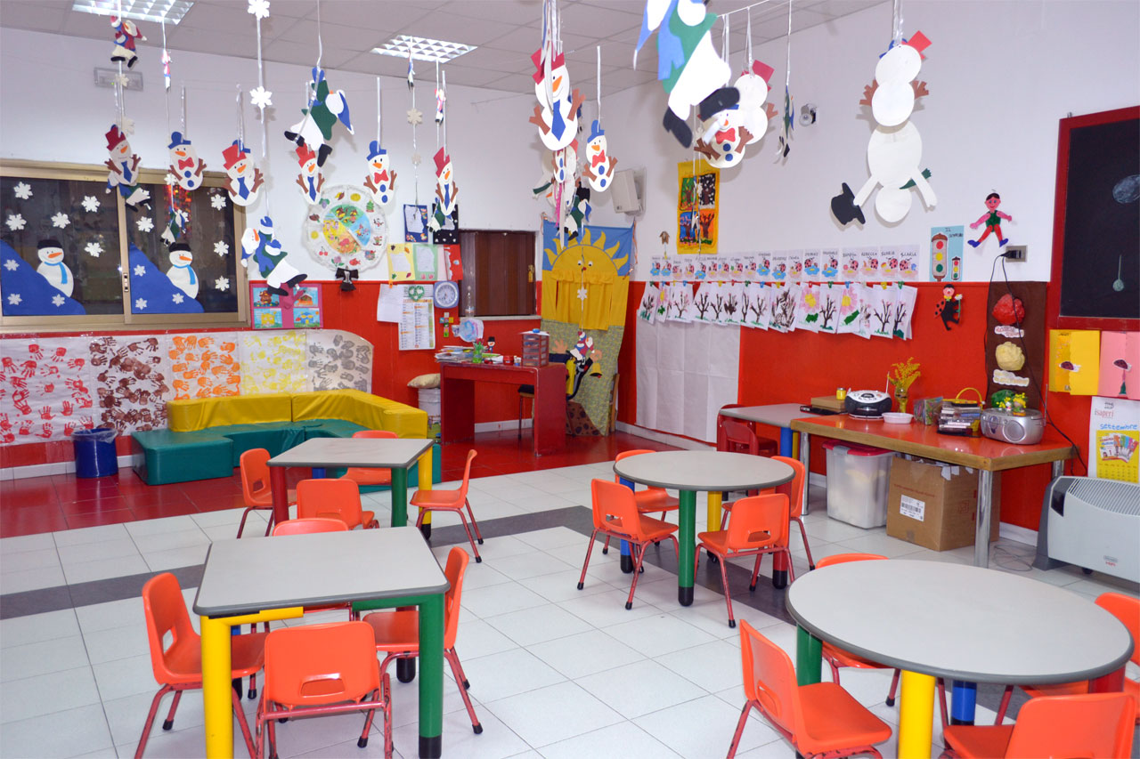 La struttura scuola dell 39 infanzia valle verde reggio for Addobbi aula scuola infanzia